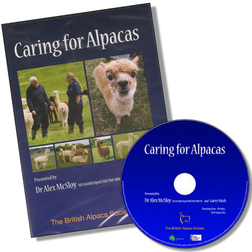 DVD - CARING FOR ALPACAS From The British Alpaca Society