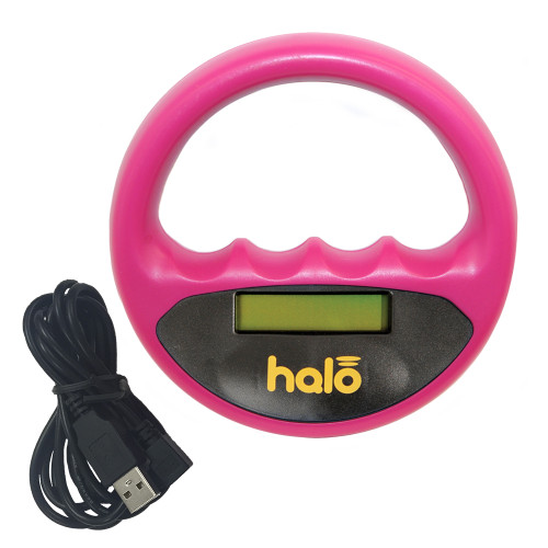 Halo Microchip reader - Pink