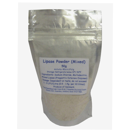 Lipase Enzyme mixed 50g