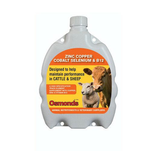 Osmonds Zinc, Copper, Cobalt, Selenium & Vitamin B12 Drench 1 litre