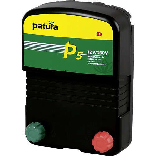 Patura P5 Multi-Voltage Energiser for Mains or Battery Connection