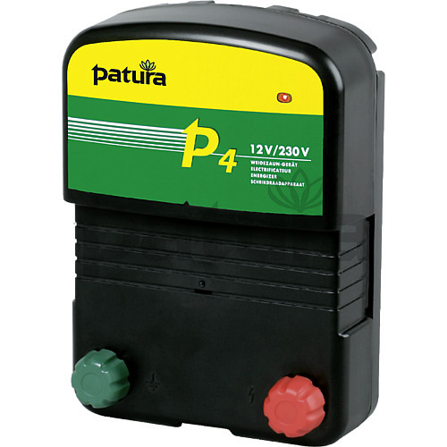 Patura P4 Multi-Voltage Energiser for Mains or Battery Connection