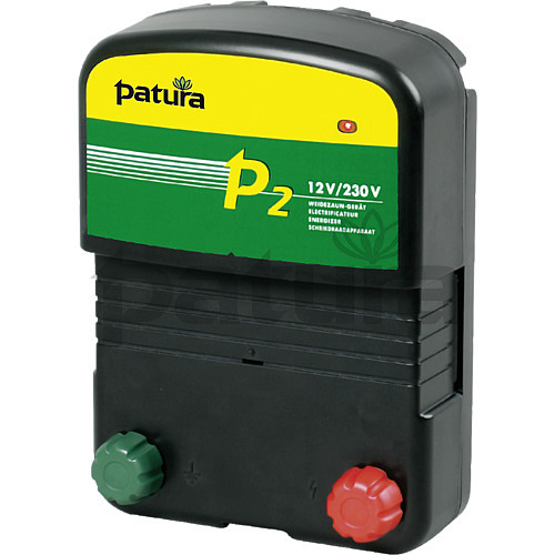 Patura P2 Multi-Voltage Energiser for Mains or Battery Connection