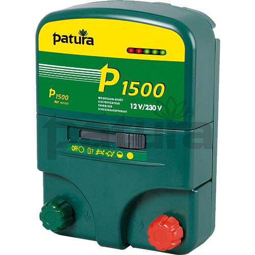 Patura P1500 Multi-Function, Multi-Voltage Energiser for Mains or Battery Connection
