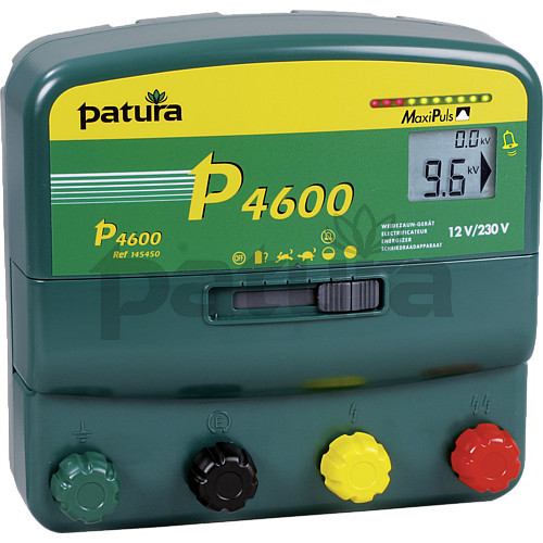 Patura P4600 Multi-Function, Multi-Voltage MaxiPlus Energiser for Mains or Battery Connection