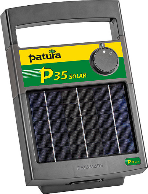 Patura P35 Solar Powered Energiser with 6V Battery
