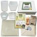 Homestead Cheese Making Kit With 4 Moulds For Hard & Soft Cheese
