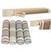 Creamore Mill Cream & Oak Roller Towel Rail PLUS Towel