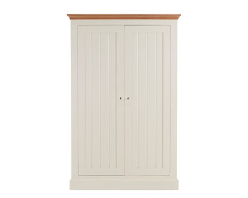 Large Full Hanging Double Wardrobe, by New England. Available now from Countrystyle Interiors.