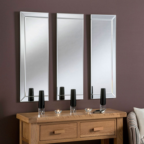 C/S 3 Panel venetian style mirror 36ht x 36w overall, by . Available now from Countrystyle Interiors.