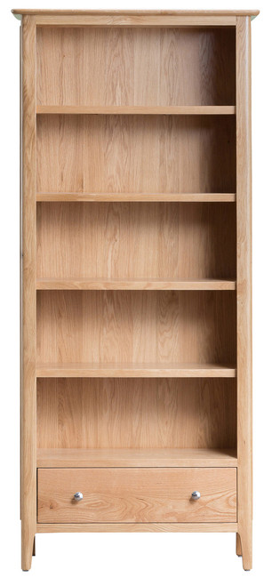 Danish style oak Large 1 drawer bookcase., by Countrystyle. Available now from Countrystyle Interiors.