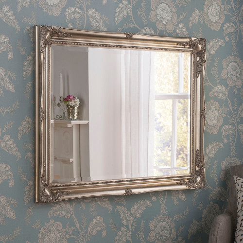 Carved 3 swept frame, by . Available now from Countrystyle Interiors.