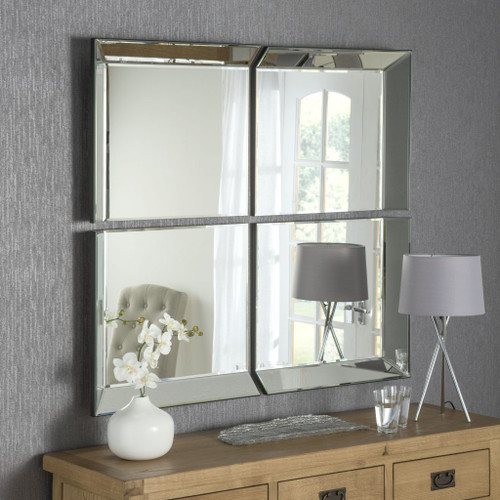 CS Byblos 4 panel combination mirror, by Countystyle. Available now from Countrystyle Interiors.