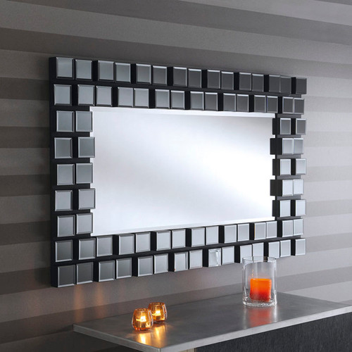 CS Mona block style 3D effect mirror