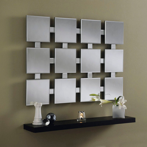 CS Vegas square panel contemporary mirror, by Countrystyle. Available now from Countrystyle Interiors.