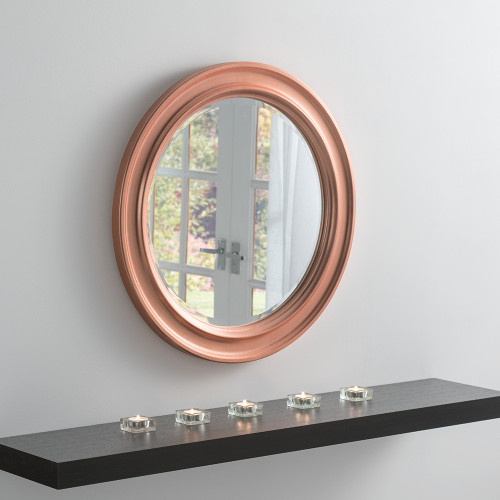 Lexden 64cm round mirror, by Countrystyle. Available now from Countrystyle Interiors.