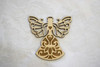 Wooden Ornament: Lace-wings Angel Small