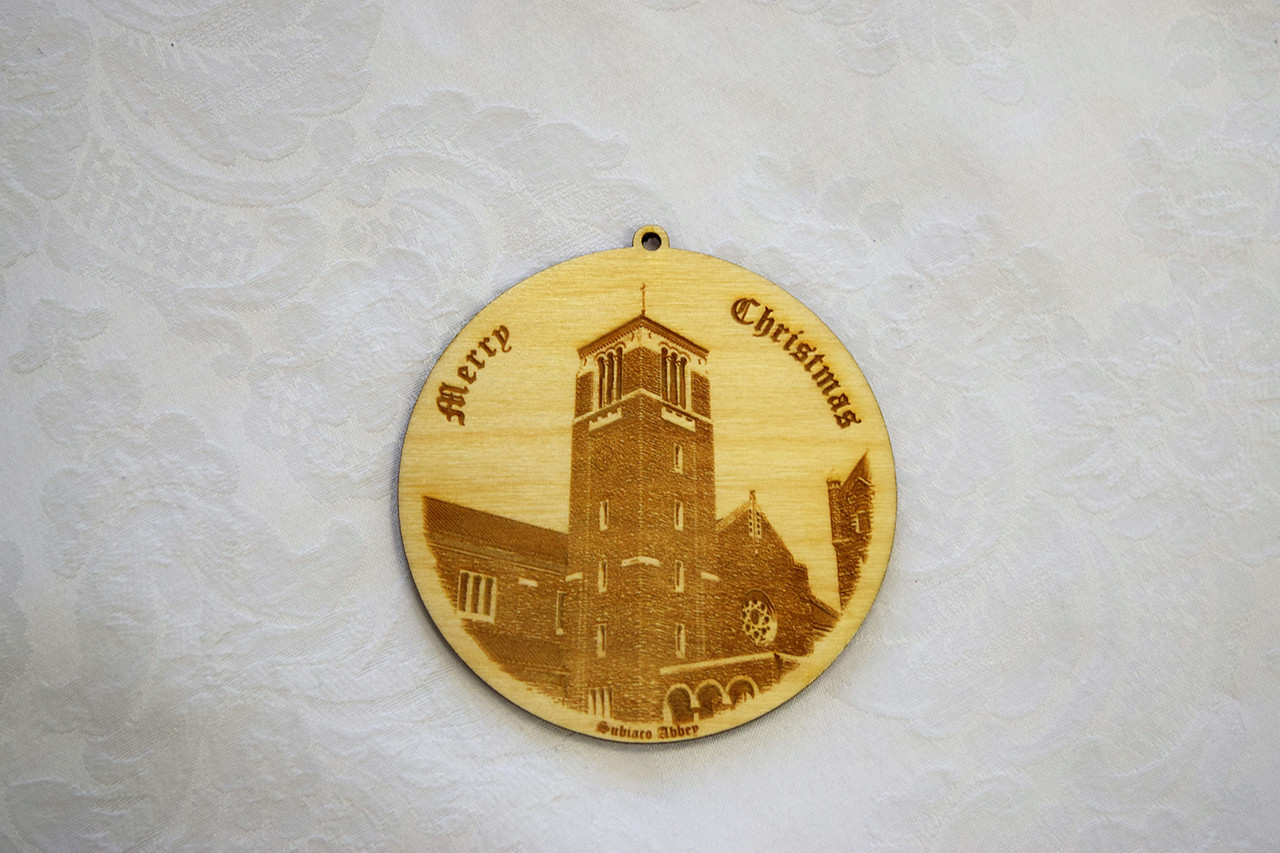 Wooden Ornament: Abbey Bell Tower