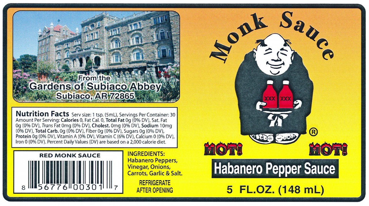 Here is our Red Sauce label.