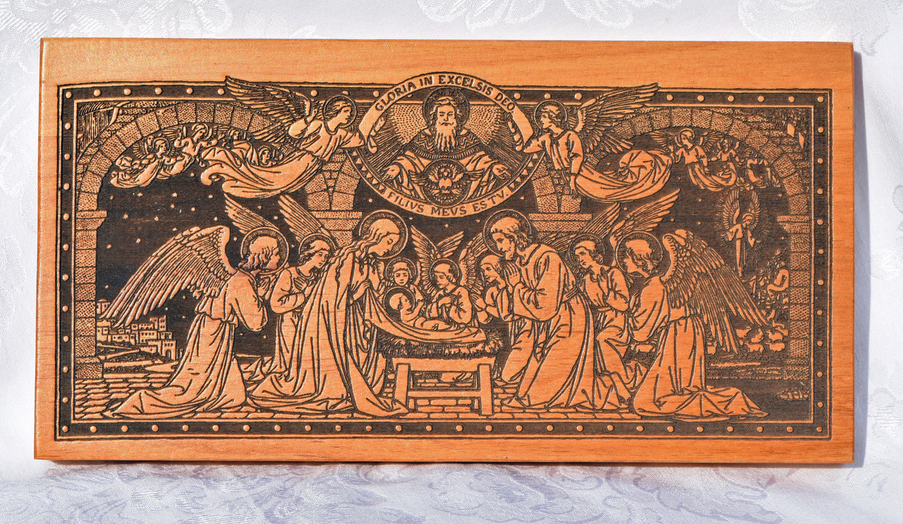 Small Carved Nativity