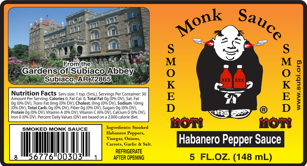 SMOKED Habanero Hot Sauce