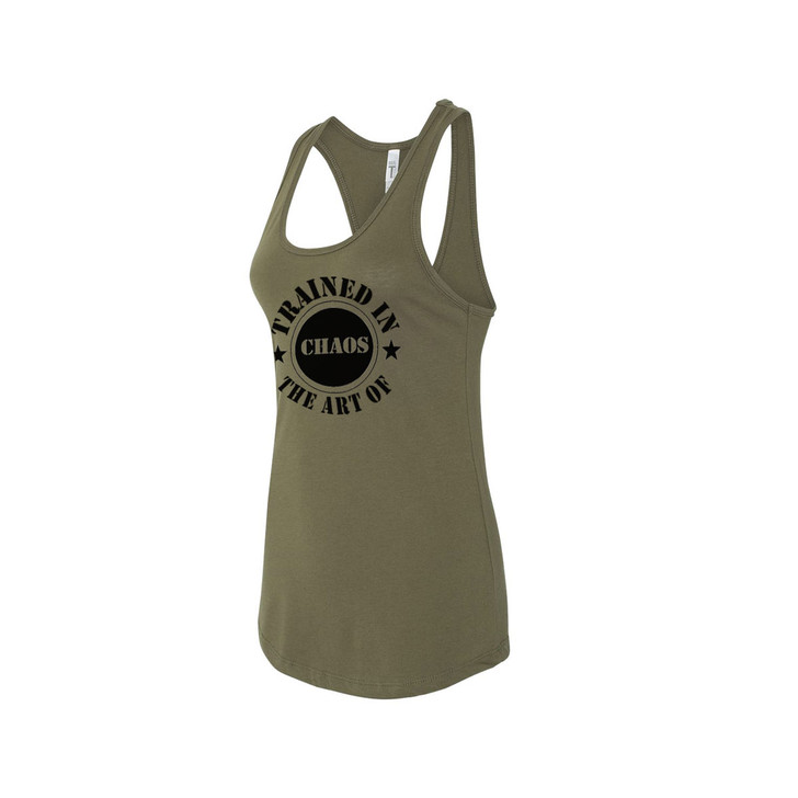Stamp Racerback (army green)