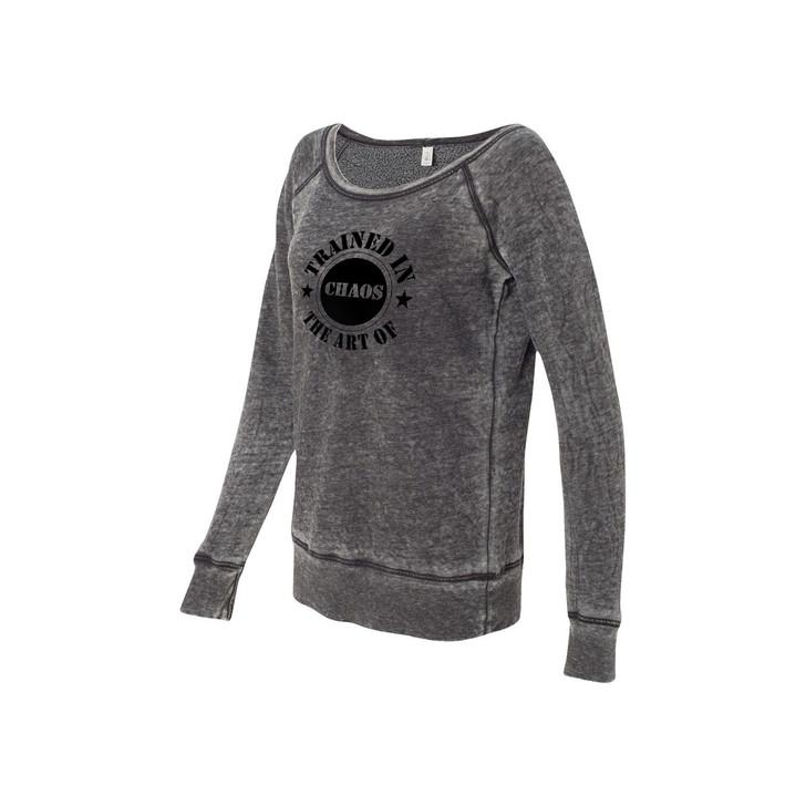 Vintage Open Neck Sweatshirt