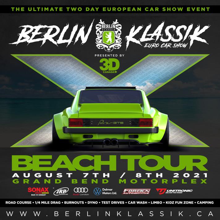 BERLIN KLASSIK 2021 Beach Tour