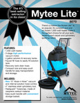Mytee 8070 Mytee-Lite Heated Carpet and Upholstery Extractor
