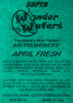 WONDER WAFER CANISTER PACK 250 COUNT - APRIL FRESH SCENT