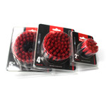 Maxshine Red M8 Medium-Duty Upholstery Carpet Brush with Drill Attachment - 5""