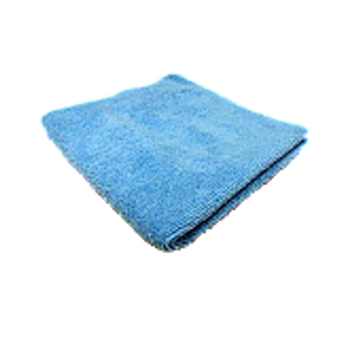 Microfiber Towel for Glass Blue