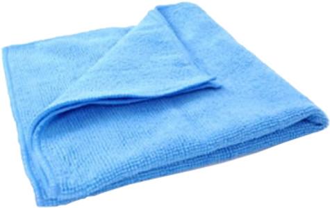 BLUE GLASS CLOTH IN BAG