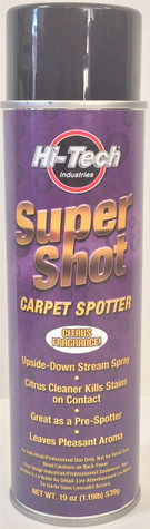 Hi-Tech Super Shot Citrus Carpet Spot Cleaner