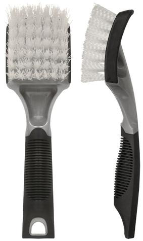 SM Arnold Soft Grip Stiff Nylon Tire/Carpet Brush