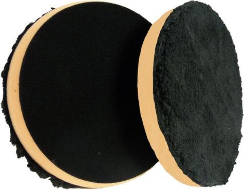 "5.5"" Black & Orange Micro Fiber Cutting Grip Pad"