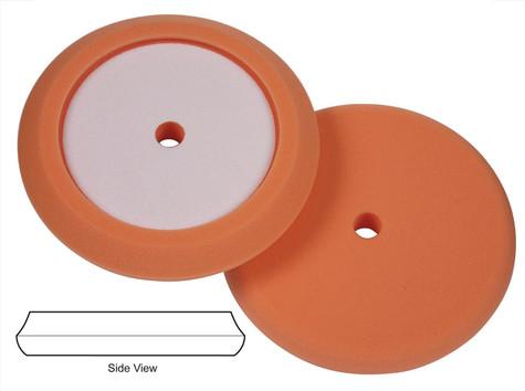 "Lake Country 8.5"" Orange Light Cutting Recessed Better Edge Foam Pad"
