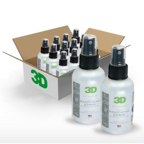 3D All Purpose Sanitizing Spray - 4oz Bottle