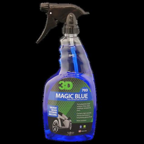 3D Magic Blue Solvent Based Tire Dressing