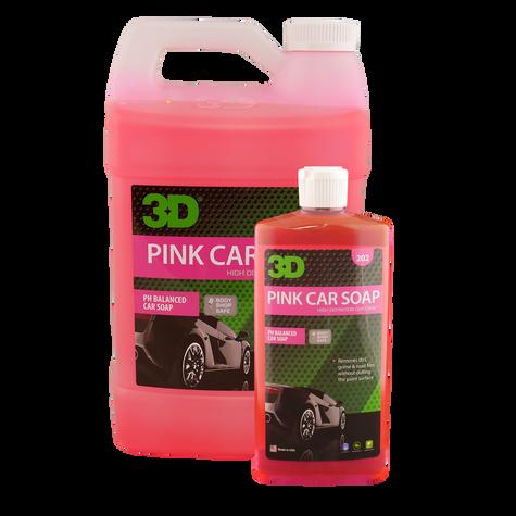 Pink Car Soap