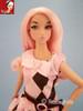 Cotton Candy 37 KatSilk ® Saran Doll Hair