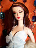 Mahogany 48 KatSilk Saran Doll Hair