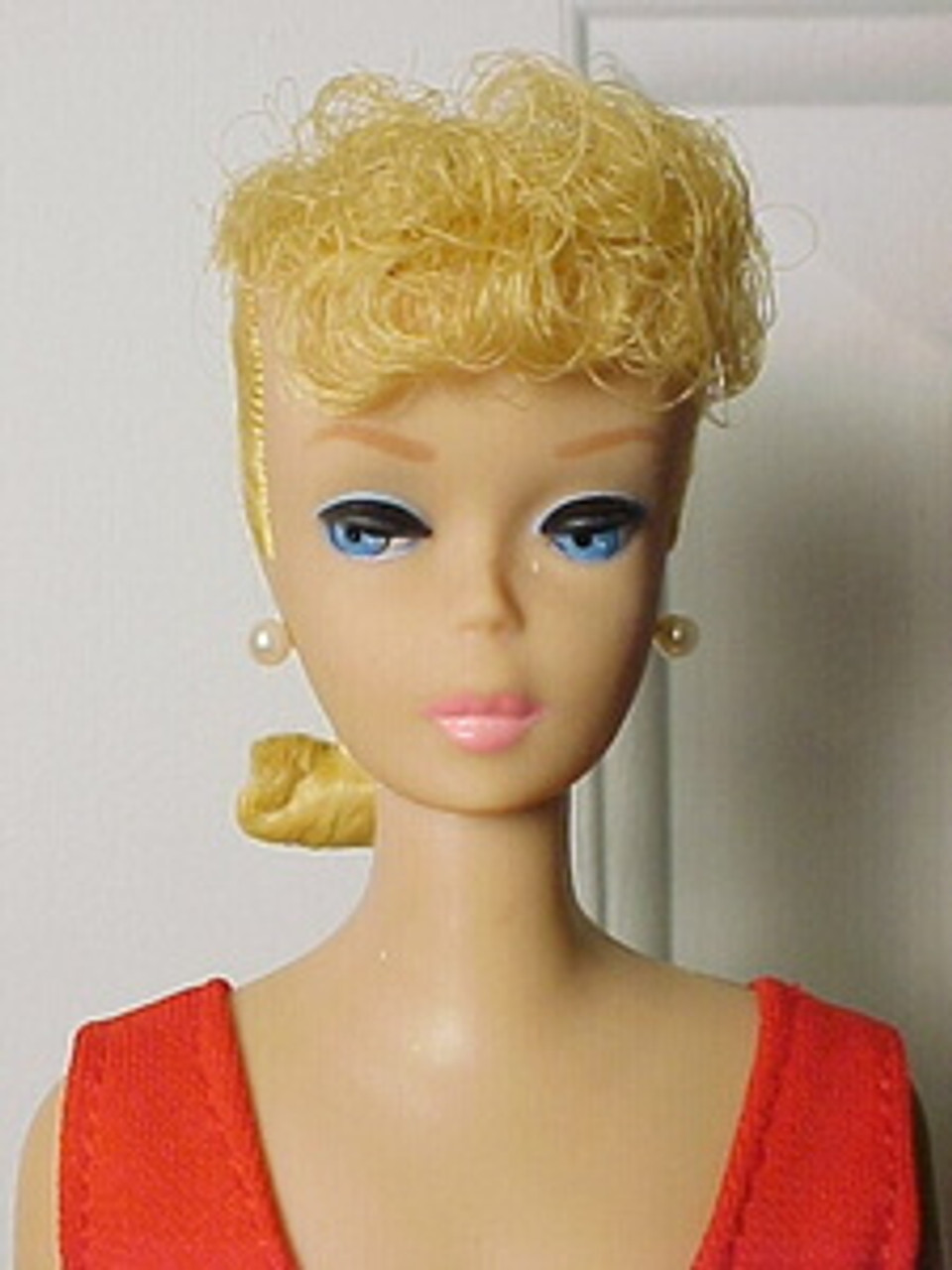 Lemon Blond 14 KatSilk Saran Doll Hair