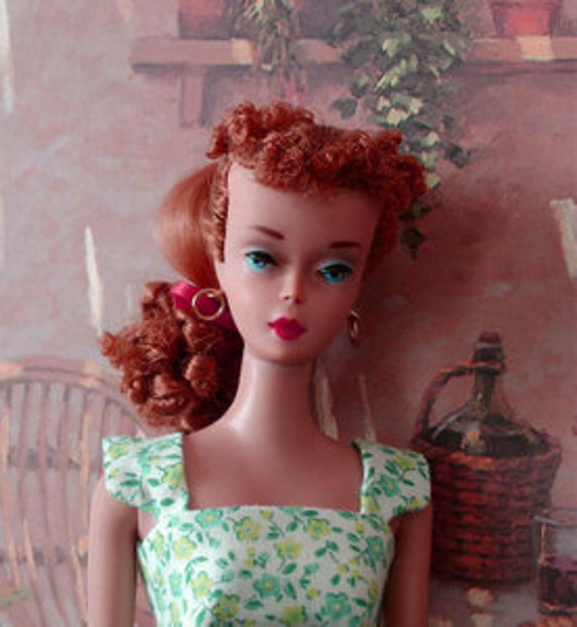 Copper Titian 16 KatSilk ® Saran Doll Hair
