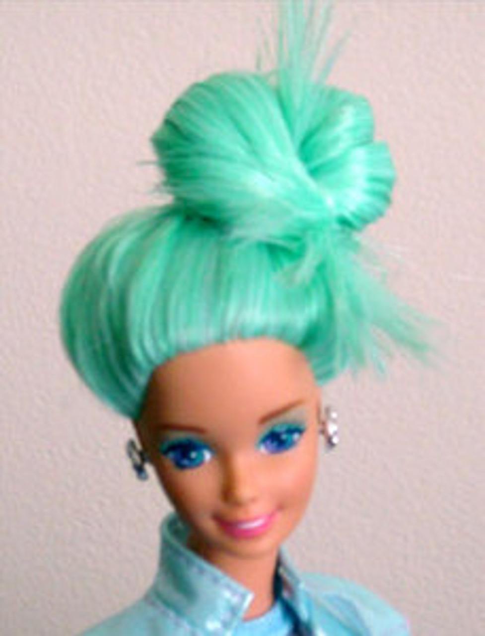 Seaweed 79 KatSilk Saran Doll Hair
