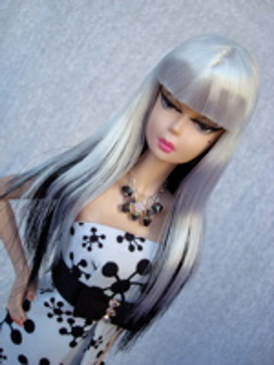 Hi Ho Silver 18 KatSilk Saran Doll Hair