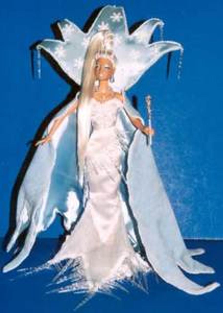 White Platinum 25 KatSilk Saran Doll Hair