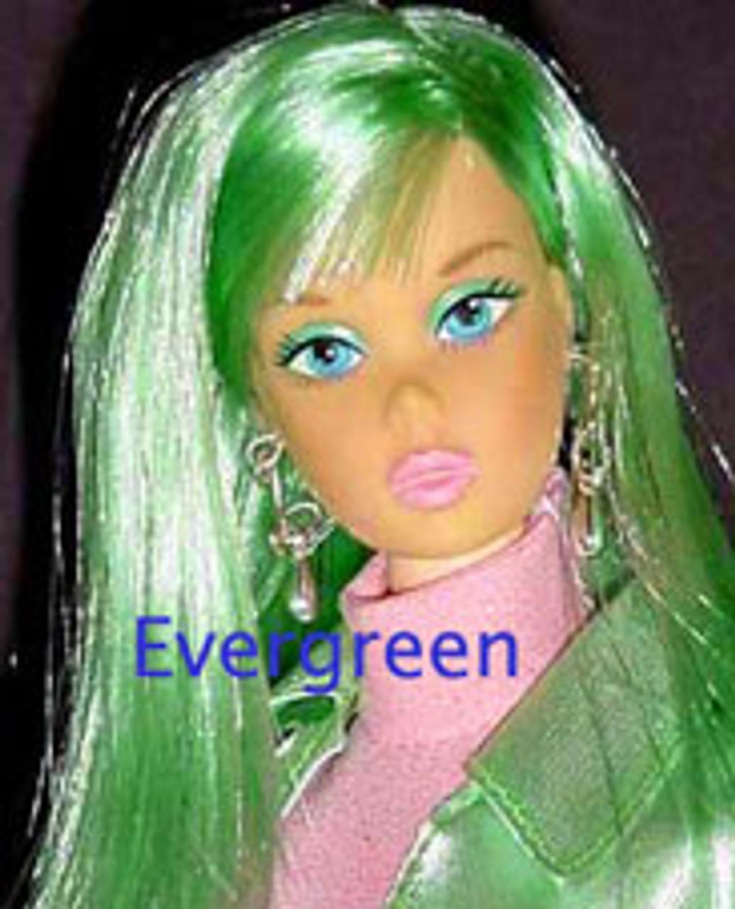 EverGreen 26 KatSilk Saran Doll Hair