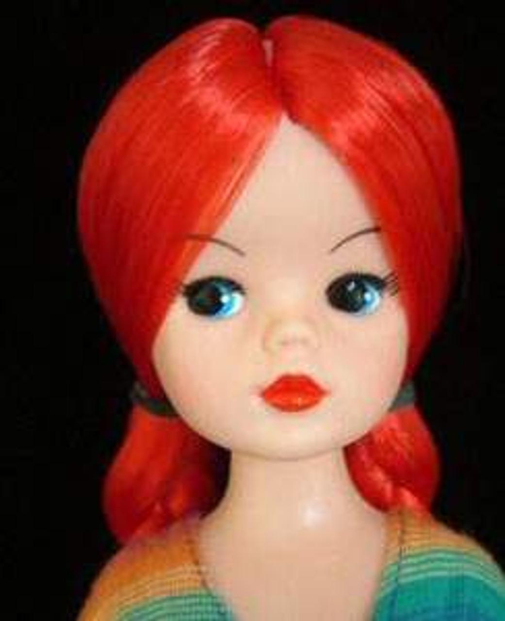 Caddy Red 29 KatSilk® Saran Doll Hair