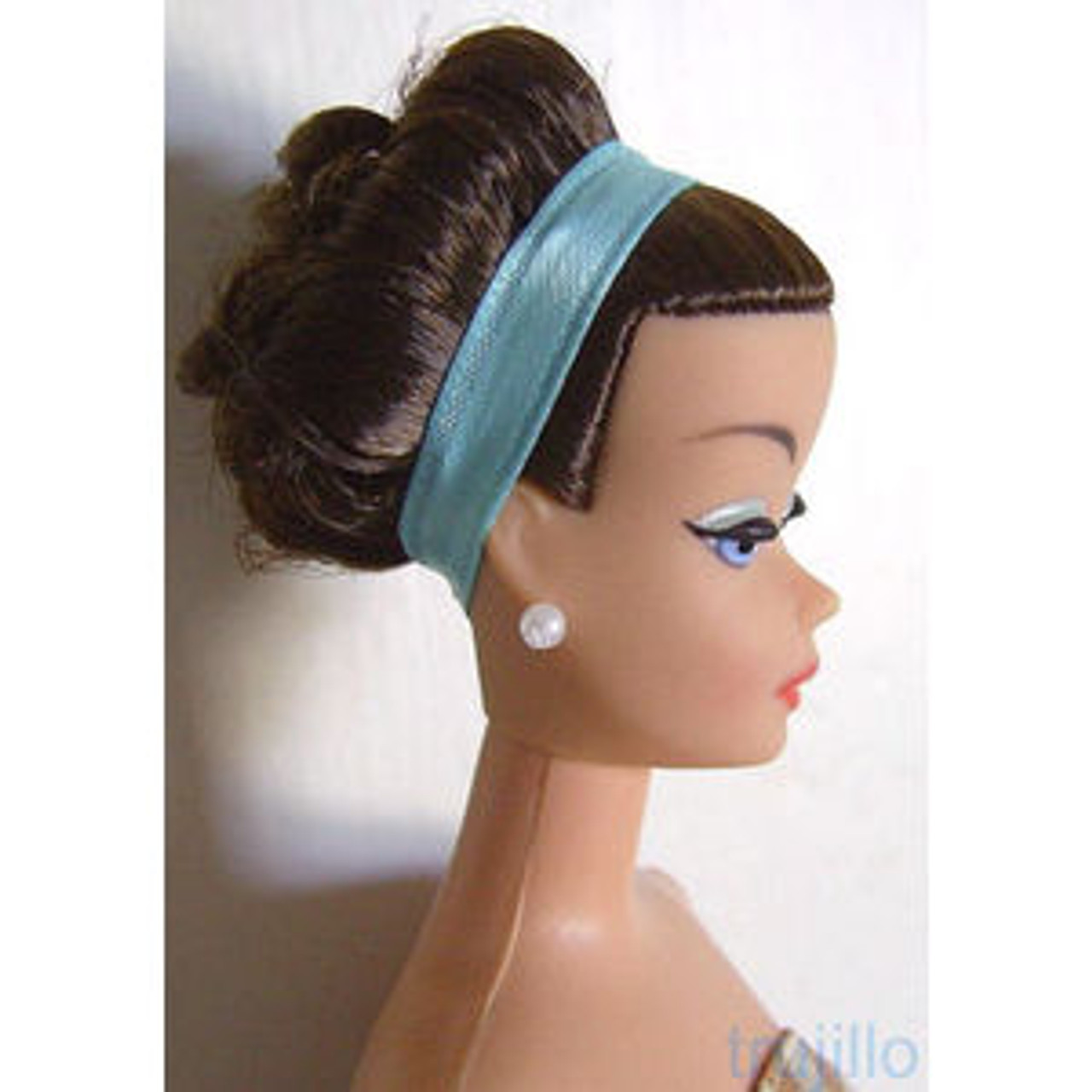Brunette 3 KatSilk® Saran Doll Hair